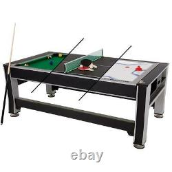 Triumph Sports 84 3-in-1 Swivel Game Table