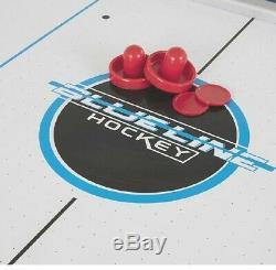 Triumph Sports Blue Line 7' Air Hockey Table
