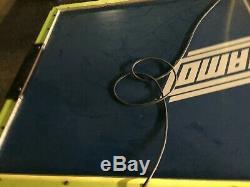 Valley-Dynamo Hot Flash Coin Operated Arcade Air Hockey Table 8' x 4