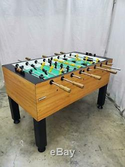 Valley Foosball Table Commercial Grade Coin Operated 100% Working