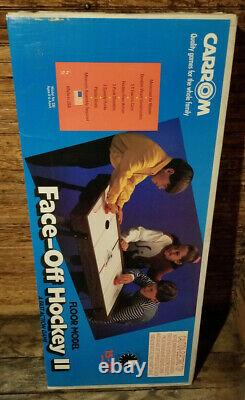 Vintage Carrom Faceoff Hockey 2 Electric Air Hockey Table New in Box
