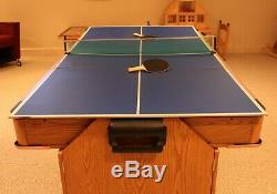 Viper 3 in 1 Game Table for Air Hockey Pool and Table Tennis