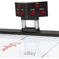 Viper 7ft. Vancouver Arctic Ice Air Powered Hockey Table Indoor Family Game Room