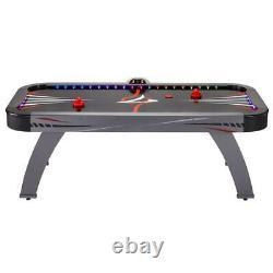 Volt 7 ft. LED Illuminated Air-Powered Hockey Table